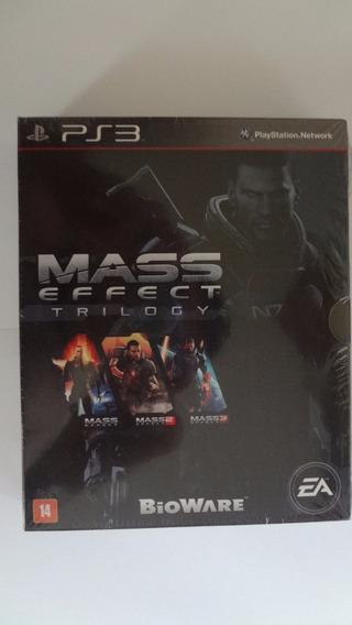 Mass Effect Trilogy Ps3 - Mídia Física - Novo E Lacrado