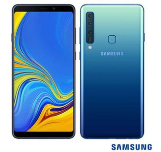 Samsung Galaxy A9 Azul, Com Tela De 6,3, 4g, 128 Gb