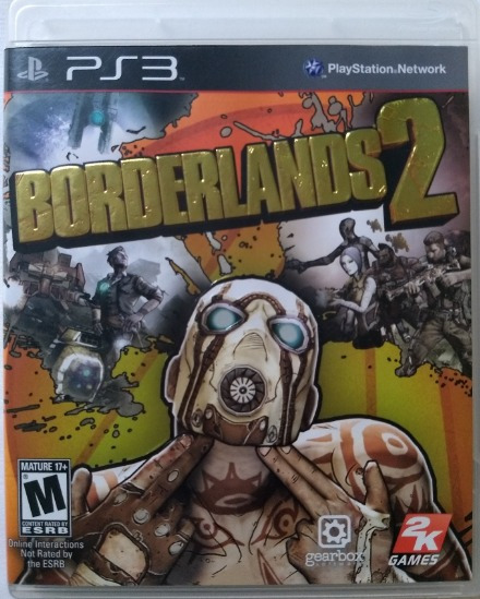 Borderlands 2 - Ps 3 - Mídia Física - Usado - Ps3bord2
