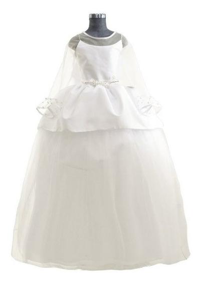 Vestido De Primera Comunión Vestido De Niña Ceremonia