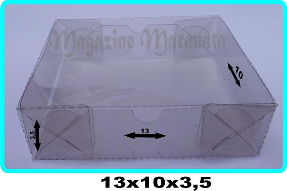 100caixas Acetato 13x10x3,5 Para Colocar Artesanatos E Doces