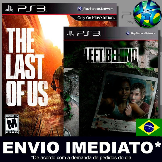 The Last Of Us + Left Behind Ps3 Psn Dublado Português Pt Br