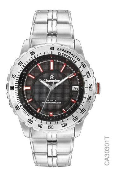 Relógio Champion Masculino Sport Prateado Ca30301t