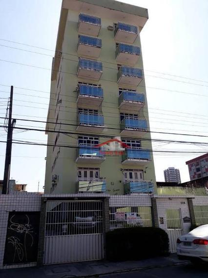 Apartamento Com 3 Dormitórios À Venda, 120 M² Por R$ 275.000 - Fátima - Fortaleza/ce - Ap0633