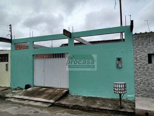 Casa Com 2 Dormitórios À Venda, 128 M² Por R$ 80.000 - Tarumã - Manaus/amazonas - Ca4067