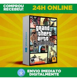 Gta San Andreas - Grand Theft Auto - Pc Português Envio 0s