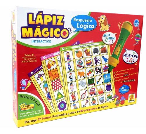 Lapiz Magico Interactivo Juego Didactico Original Implas