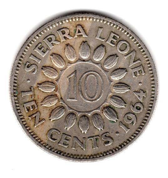 Bkz / Sierra Leona - 10 Cents 1964