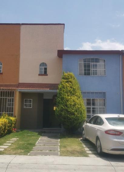 Casa Amueblada En Renta Cerca De Aeropuerto Toluca Ubicada!