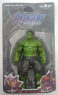 Hulk Avengers Infinity War End Game Luz Articulado 17cm!