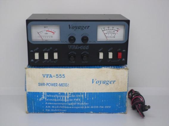 Voyager Vfa-555 Acoplador Wattimetro Medidor Swr E Roi Novo