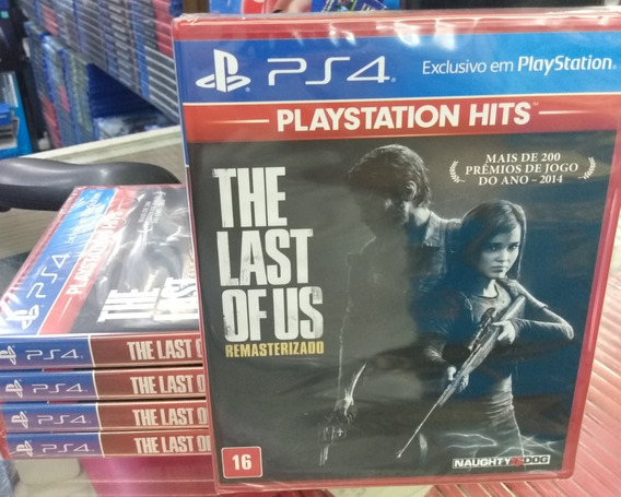 The Last Of Us Remasterizado Ps4 Mídia Física Dublado Novo