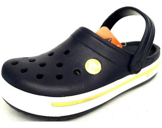 Original Crocs Kids Crocband 2.5 Retro Luck Clog Azul Marino