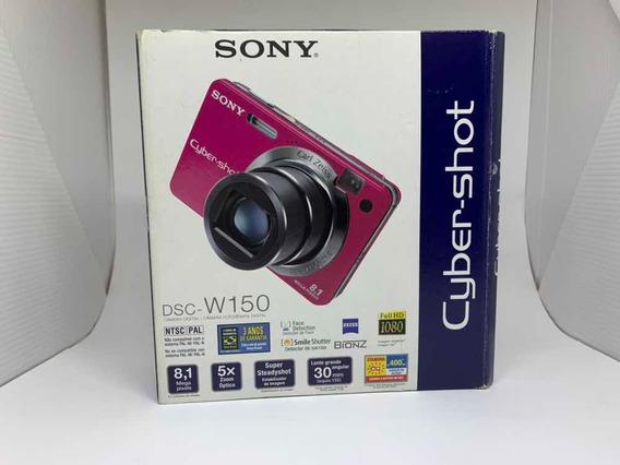 Câmera Sony Cybershot Dsc-w150