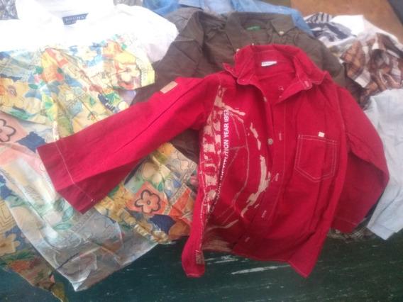 Camisas Varon 4 A 12 Años Italianas (microcentro)
