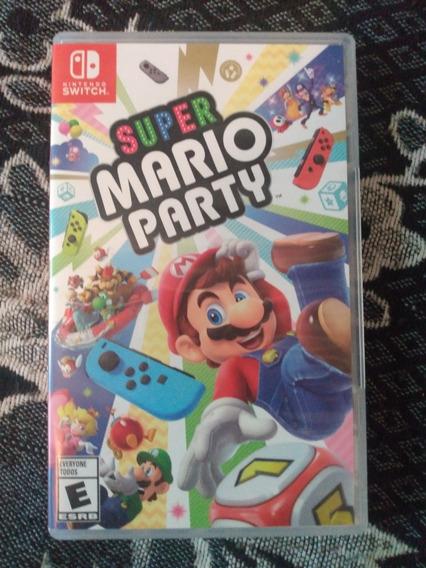 Jogo Mario Party Nintendo Switch Mega Novo.