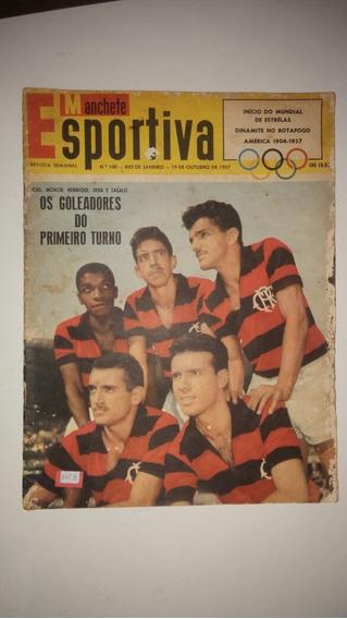 Revista Manchete Esportiva N 100 1957flamengo