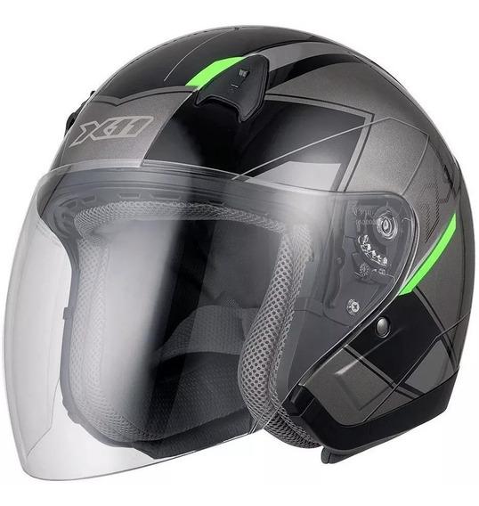Capacete Aberto Motociclista Motoqueiro X11 Freedom Metric