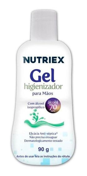 Álcool Em Gel Higienizador Para Mãos 90g-nutriex-64311