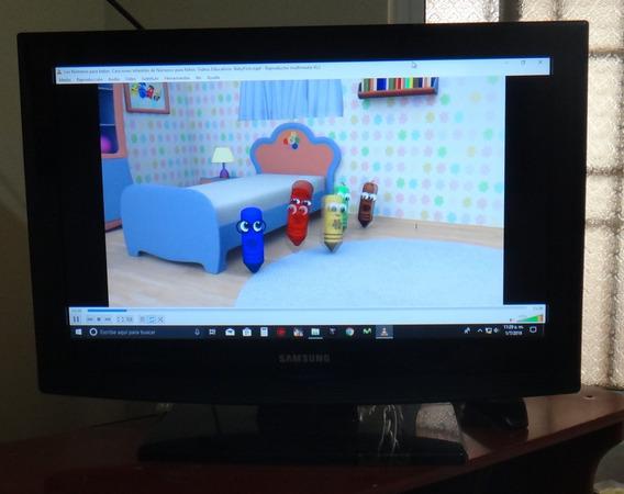 Tv Plana Samsung 26 Pulgadas Mod: Ln26b350f1xzl 2 Hdmi