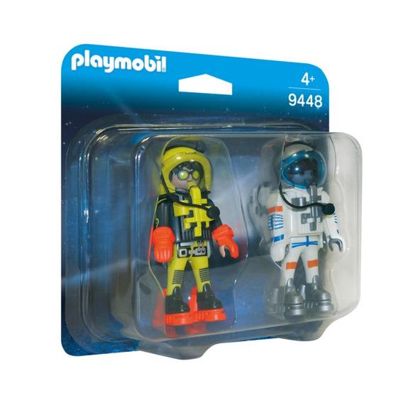 Playmobil 9448 Duo Pack Astronautas Sunny