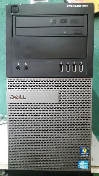 Cpu Desktop Dell Optiplex 990 Core I5 2400 4gb Hd320 Gb
