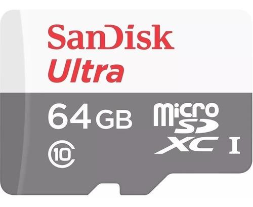 Imagen 1 de 2 de Tarjeta Memoria Microsd 64gb Sandisk Ultra