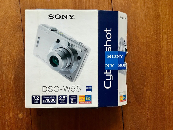 Câmera Sony Dsc-w55 Cyber Shot