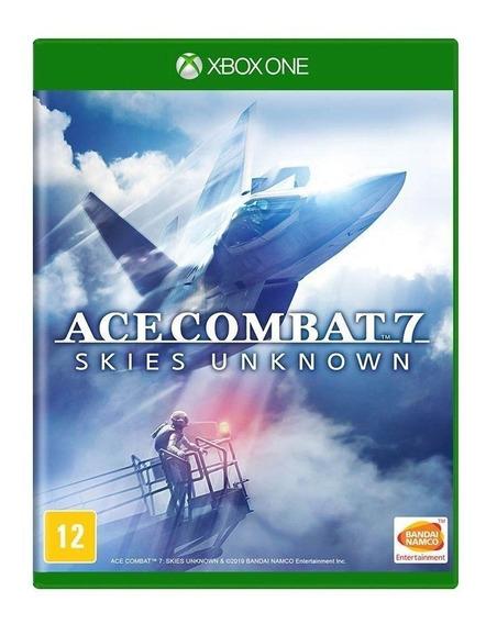 Ace Combat 7: Skies Unknown - Mídia Física - Xbox One - Novo