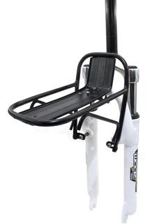 Portaequipaje Delantero Bicicleta Rod 26 Carga 10kg V-brake