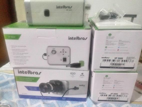 Câmera Box 600 Tvl Ccd Sony Intelbras