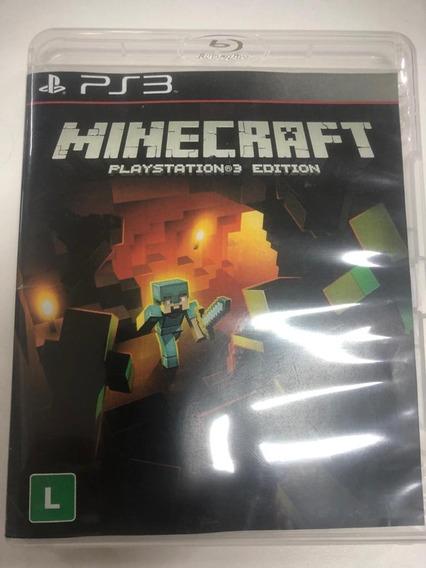 Minecraft Para Ps3 - Mídia Física [usado]