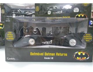 Batmovel Batman Returns Carrinho Controle Remoto Candide !