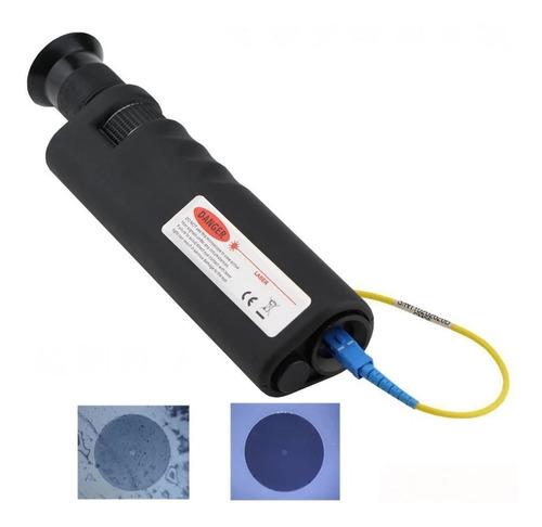 Microscópio Inspeção Fibra Óptica 400x