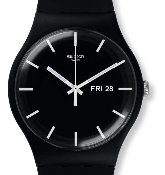 Reloj Hombre Swatch Mono Black