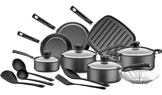 Set Bateria Cocina X13 Piezas Tramontina Versalhes Starflon