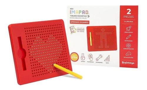 Juguetes Educativos Brain Toys Imapad Mini Rojo