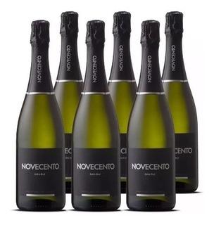 Champagne Novecento Extra Brut Caja X 6 - Perez Tienda -