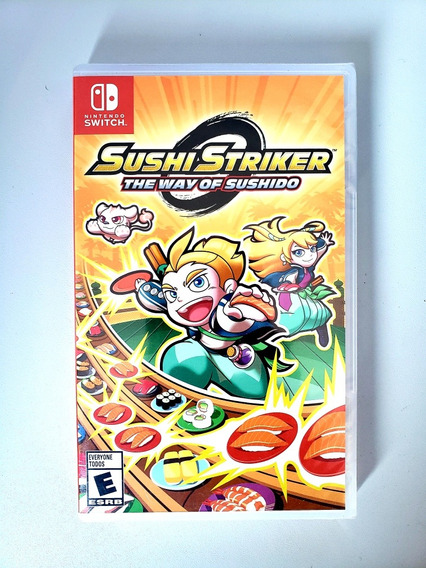 Sushi Striker The Way Of Sushido Original Nintendo Switch