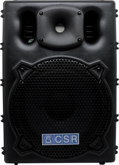 Caixa Bi Amplificada 10 100w Csr-2500 Bluetooth Original Nfe