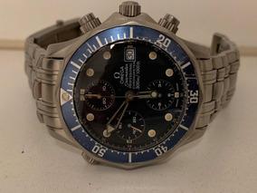 Relógio Omega Seamaster Titanium 41mm Ref. 22988000 Raro!