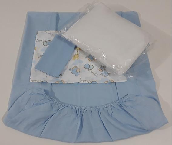 Enxoval De Bebe - 4 Lençol 6 Fronha 1 Travesseiro