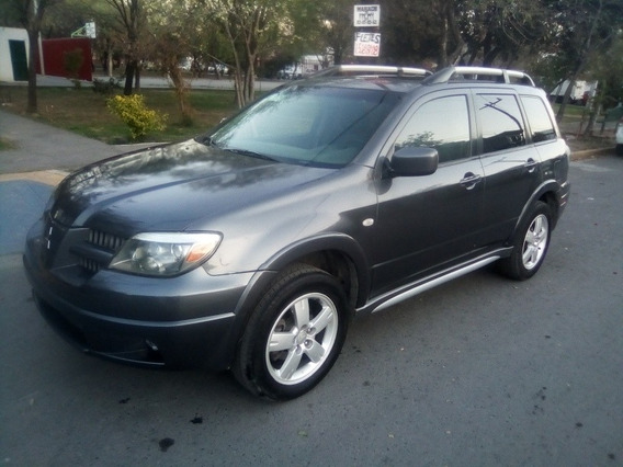 Mitsubishi Outlander 2.4 Limited Aa Ee Qc Piel At 2005