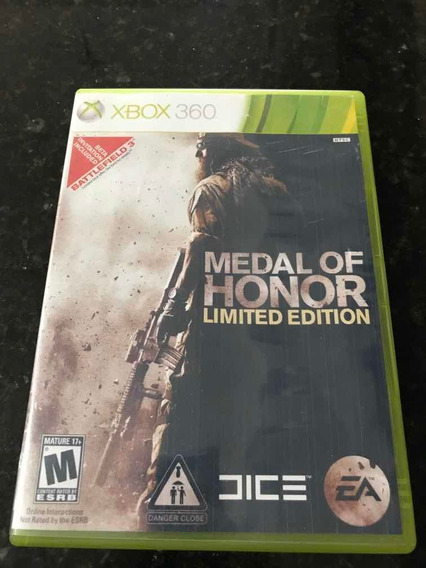 Jogo Xbox 360 Medal Of Honor Limited Edition Original Fi