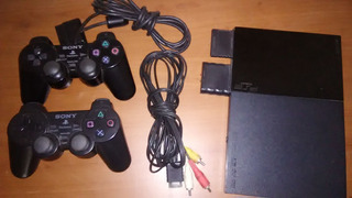 Playstation 2 Chipeado 2 Controles $45 Dsi $45