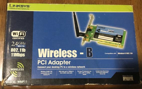 Linksys Wireless - B Pci Adapter