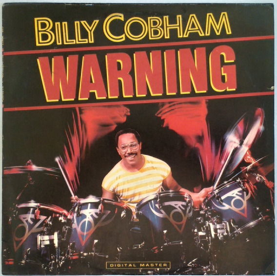 Lp Billy Cobham - Warning (1985)