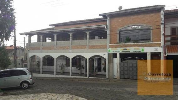Sobrado Com 3 Dormitórios À Venda, 485 M² Por R$ 750.000,00 - Centro - Santa Branca/sp - So0437