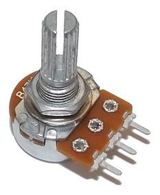 Potenciômetro Simples Eixo L20 - Escolha O Modelo - 25 Peças