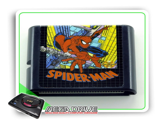 Spider-man Sega Mega Drive / Genesis - Novo